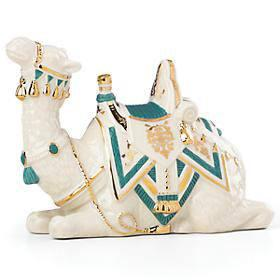 Lenox  First Blessing Nativity Laying Camel with Teal Cloth $80.00