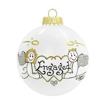 $22.00 Engaged Ornament