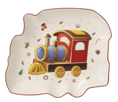 Bowl, Christmas Train