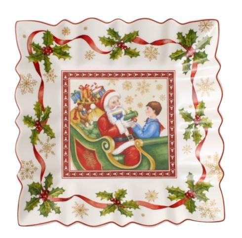 Villeroy /& Boch Toys Fantasy Peal of the Bells 9 x 9 in Square Bowl