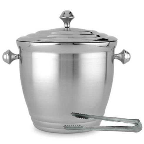 Lenox  Tuscany Classics Metal Ice Bucket with Tongs $55.00