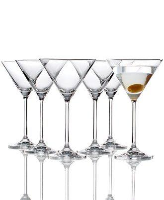Lenox  Tuscany Classics Martini Glasses, Set of 6 $50.00