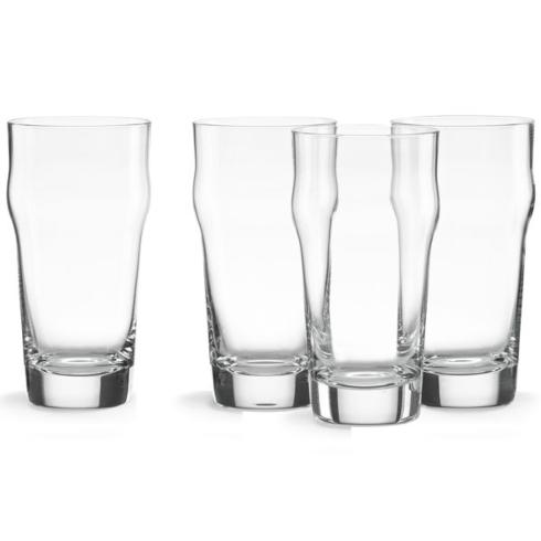 Lenox  Tuscany Classics Craft Beer Pint Glasses with Crown, Set of 4 $40.00