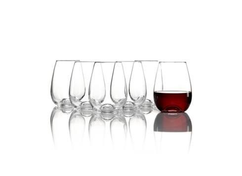 Lenox  Tuscany Classics Stemless Wine Glasses, Set of 6 $50.00