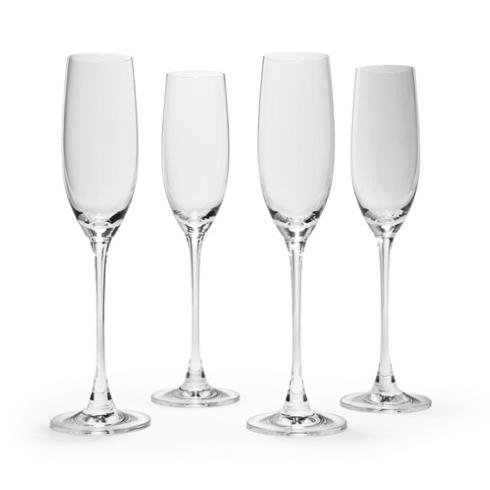 $50.00 Champagne Flutes, Set of 4