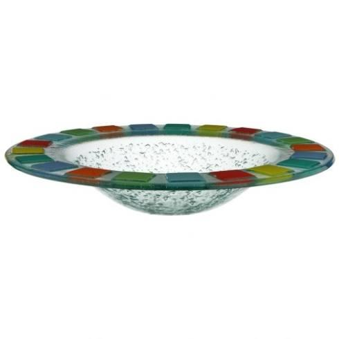 "Villeroy & Boch Twist Alea Dinnerware Twist Alea Vitrum Glass Round Bowl, 15"" $91.00"