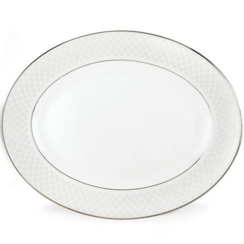 """Lenox  Venetian Lace 16"""" Oval Platter $260.00"""