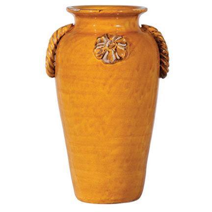$106.00 Vietri Spice garden Mustard Vase