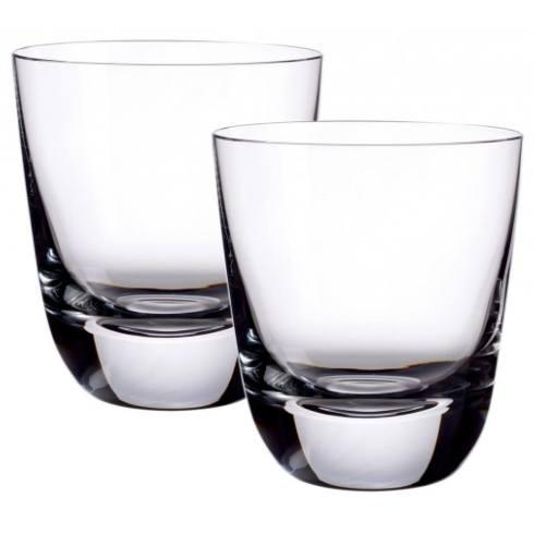 Villeroy & Boch  American Bar - Scotch Whisky Straight Bourbon Double Old Fashion Glasses, Pair $40.00