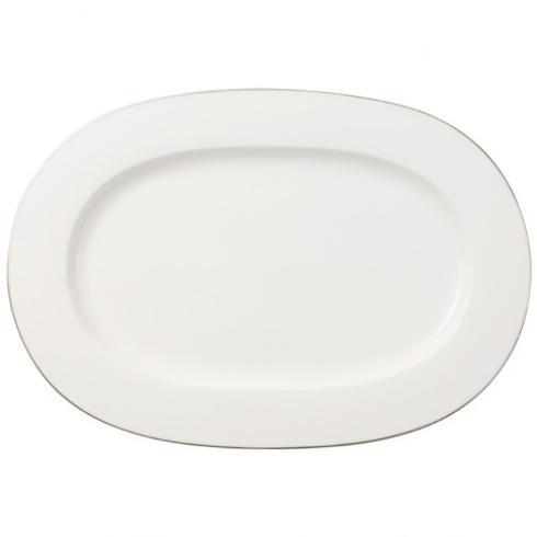 Villeroy & Boch  Anmut Platinum Oval Platter $141.00