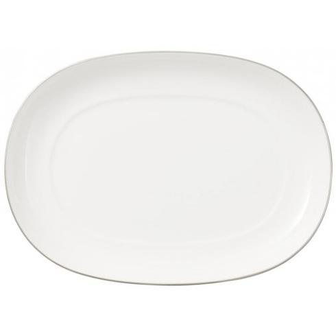 Villeroy & Boch  Anmut Platinum Pickle Dish/Gravy Stand $47.00