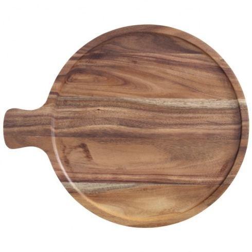 """$58.00 Wood Antipasti Plate, 11"""""""