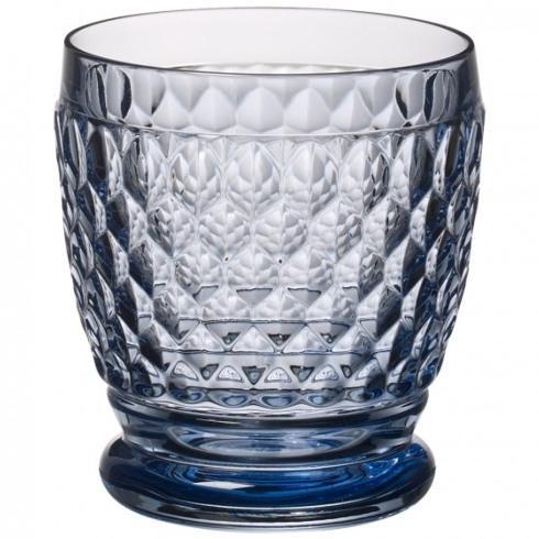 Villeroy & Boch Boston Crystal Blue Blue Double Old Fashion $16.00