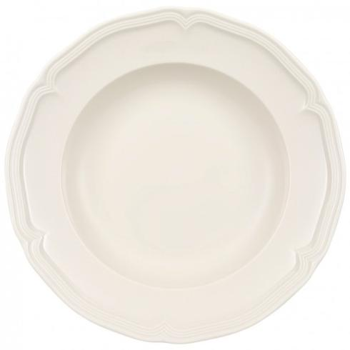 "Villeroy & Boch  Manoir Rim Soup Bowl, 9"" $21.00"