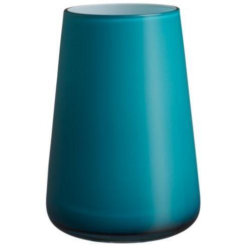 """Villeroy & Boch  Colour Vases Numa Square Vase Caribbean Sea, 7.75"""" $50.00"""