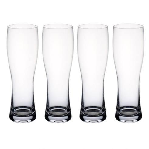 Villeroy & Boch  Purismo Wheat Beer Goblets / Pilsners, Set of 4 $45.00