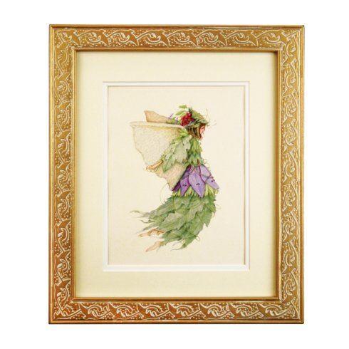 Patience Brewster  Framed Art Vineyard Harvest Fairy $71.50