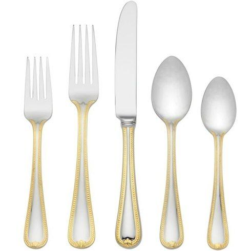 Lenox  Vintage Jewel Gold Flatware 5 Piece Place Setting $65.00