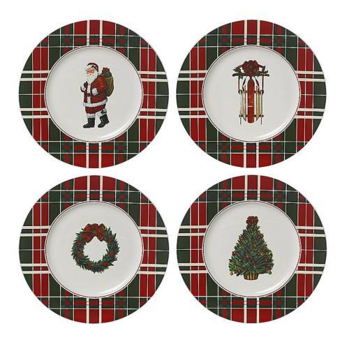 Lenox  Vintage Plaid Accent Plates, Set of 4 $40.00