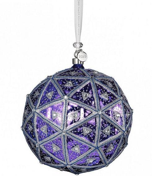 $85.00 Waterford 2020 Times Square Masterpiece Ball Ornament