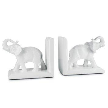 Torre & Tagus   Tambo Elephant Bookends, Set of Two  $70.00