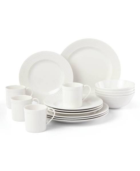 Kate Spade  Wickford Dinnerware 16 Piece Dinnerware Set $300.00