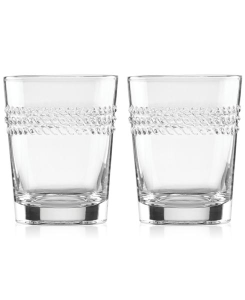 Kate Spade  Wickford Glassware Double Old Fashion, Set of 2 $40.00