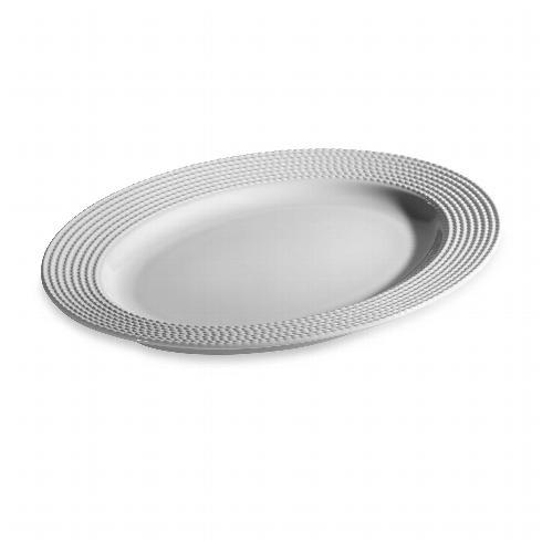 "Kate Spade  Wickford Dinnerware Oval Platter, 16"" $100.00"