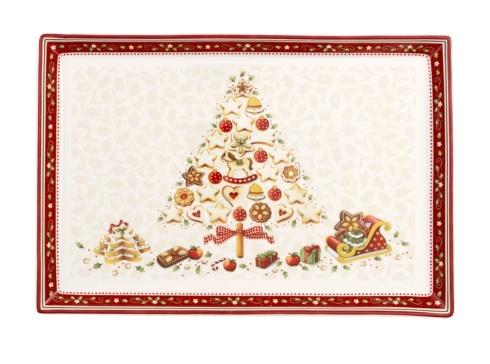 Villeroy & Boch  Winter Bakery Delight Large Cake Plate with Tree $50.00