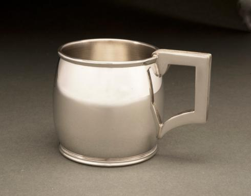 $119.00 Mirror Finish Pewter Baby Cup 4 oz.