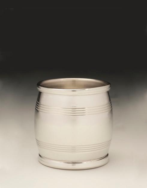 $800.00 Sterling Silver Bourbon Barrel Jigger 2 oz. (3 Troy oz.)