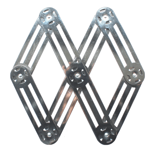 $75.00 Expendable metal trivet - Roger Orfèvre