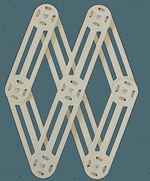 $75.00 Expendable metal trivet BEIGE - Roger Orfèvre