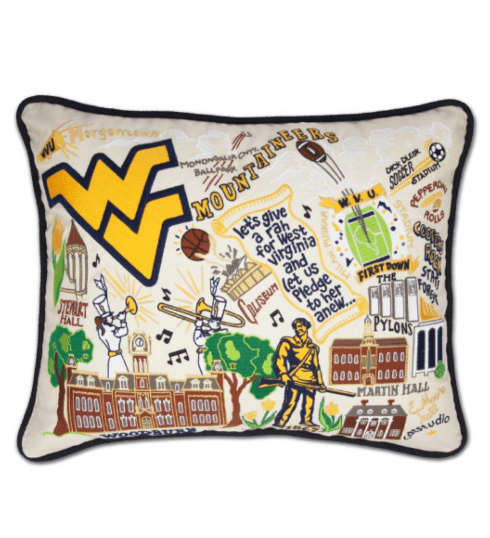 $192.00 WVU Catstudio Pillow