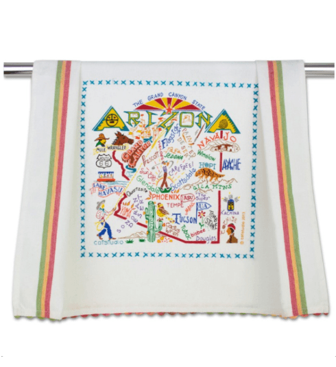 $20.00 Arizona Catstudio Dish Towel