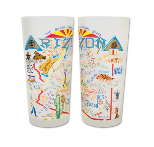 $16.50 Arizona Catstudio Glass
