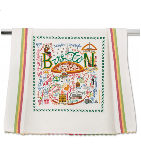 $20.00 Boston Catstudio Dish Towel