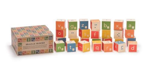 $43.00 Braille Language Blocks