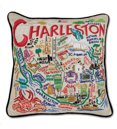 $196.00 Charleston Catstudio Pillow