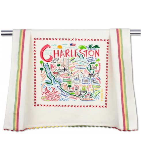 $20.00 Charleston Catstudio Dish Towel