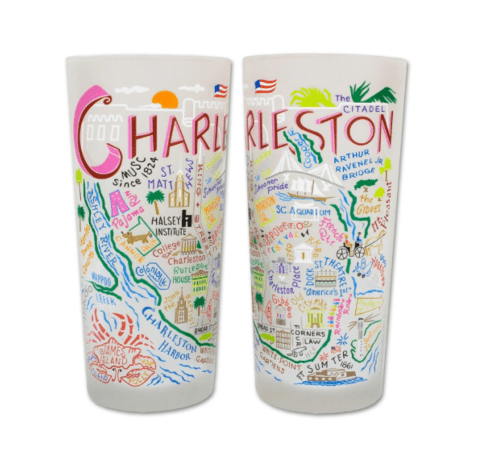 $16.50 Charleston Catstudio Glass