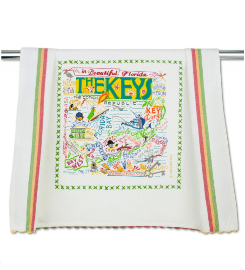 $20.00 Florida Keys Catstudio Dish Towel