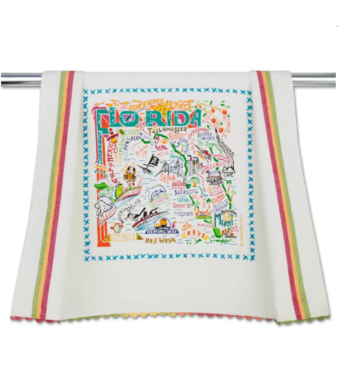$20.00 Florida Catstudio Dish Towel