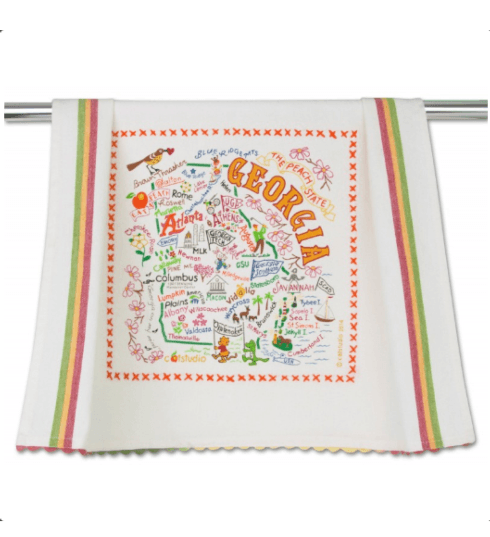 $20.00 Georgia Catstudio Dish Towel