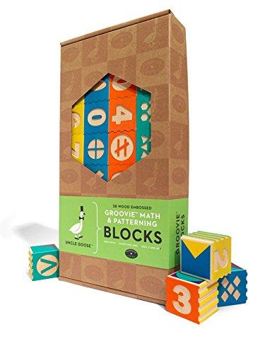 $43.00 Groovie Math & Patterning Blocks