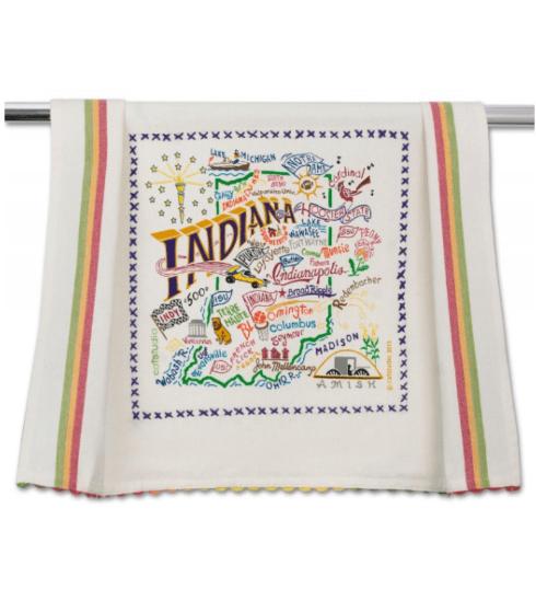 $20.00 Indiana Catstudio Dish Towel