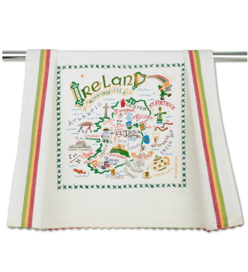 $20.00 Ireland Catstudio Dish Towel