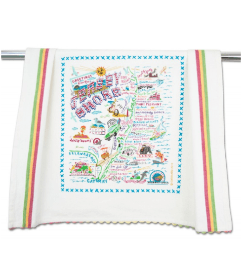 $20.00 Jersey Shore Catstudio Dish Towel