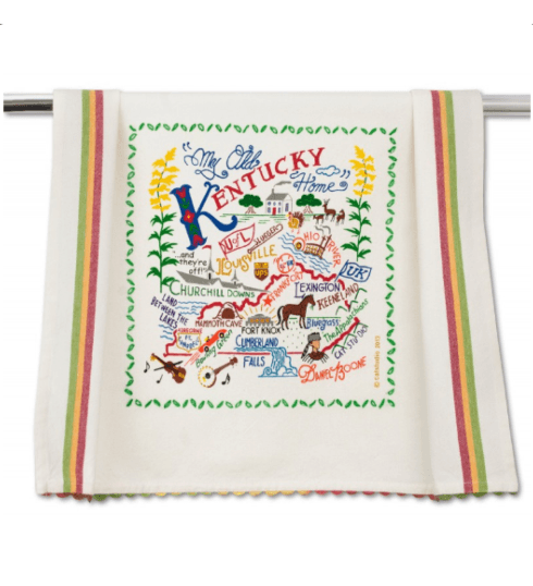 $20.00 Kentucky Catstudio Dish Towel