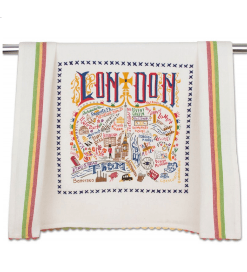 $20.00 London Catstudio Dish Towel